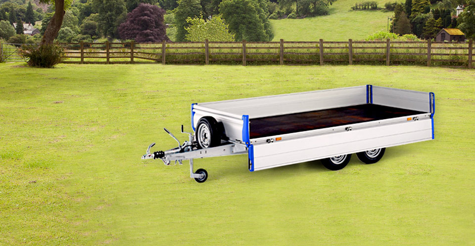 Ifor Williams Eurolight, Westwood New trailers, Aluminium Sides