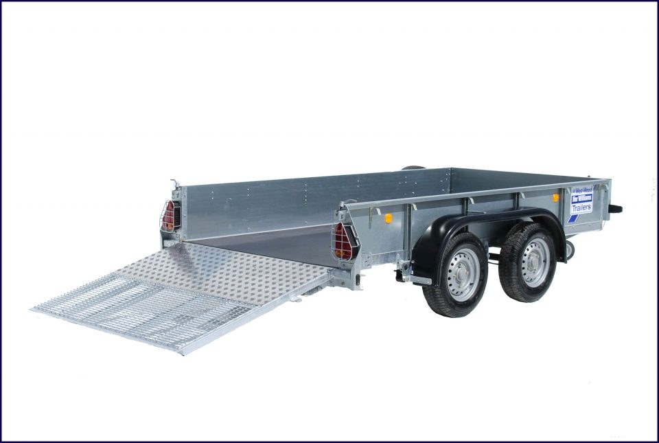 GD105 Ifor Williams General Duty, Westwood New Trailers, 10 x 5 Ramp