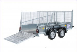 GD105 Ifor Williams General Duty, Westwood New Trailers, Mesh & Ramp