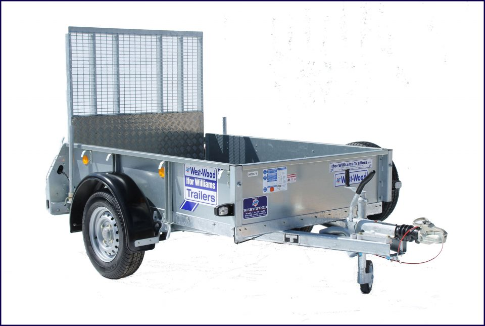GD64 Ifor Williams General Duty, Westwood New Trailers, Ramp Front