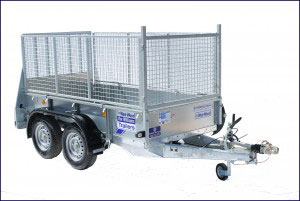 GD84 Ifor Williams General Duty, Westwood New Trailers, 8 X 4 Ramp
