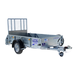 GD84 1400Kg General Duty Trailer.