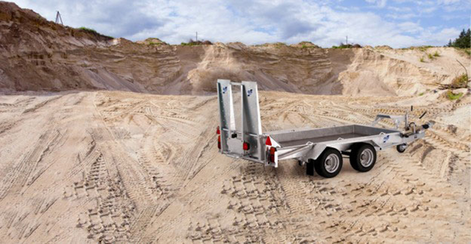 The GH94-iFor Williams Plant Trailer from West Wood Trailers.