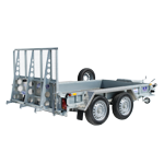GP106 Ifor Williams Plant Trailer