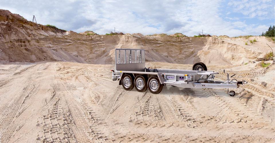 GP126 Tri Ifor Williams Plant, Westwood New trailers