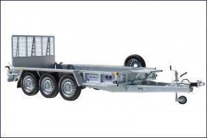 GP126G TRI Ifor Williams Plant, Westwood New Trailer,