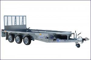 GX126 Tri Ifor Williams Plant, Westwood New Trailer,