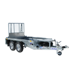 GX84 Ifor Williams Small Plant Trailer