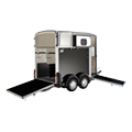 HB506 Ifor Williams Double Horsebox Trailer.