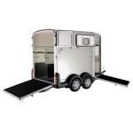 HB511 Ifor Williams Double Horsebox Trailer