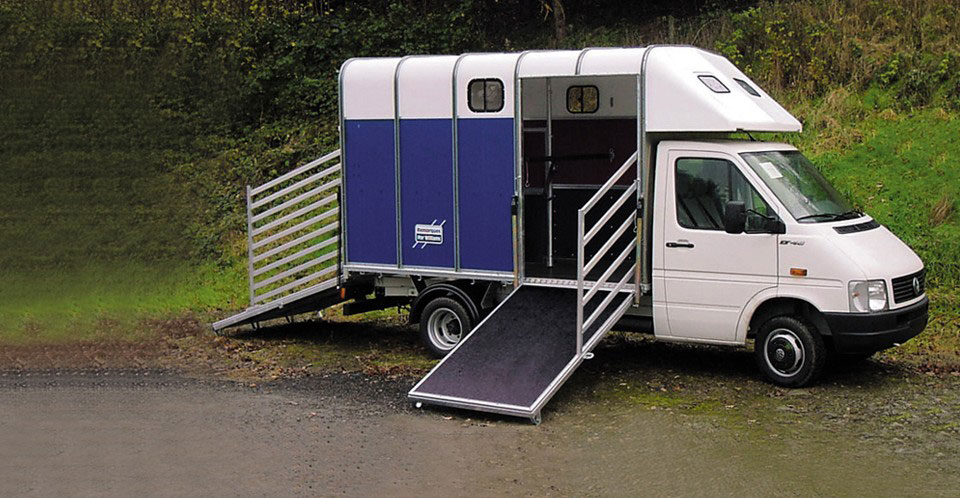 Ifor Williams Horsebox Container, Westwood New trailers