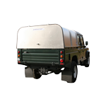 Vehicle Canopy (with Solid Panel) Ifor Williams