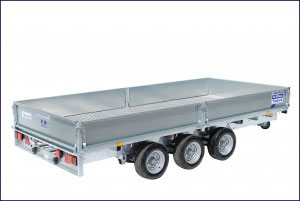 LM166 Tri Ifor Williams Flatbed, Westwood New Trailers,