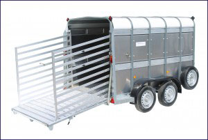 TA510 10 Ifor Williams Livestock, Westwood New Trailers