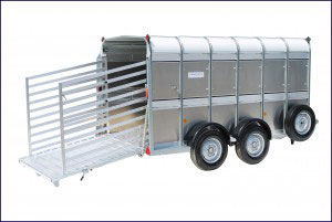 TA5 12 Ifor Williams Livestock, Westwood New Trailers