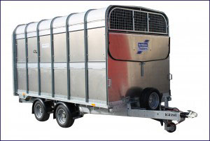DP120G 12 Ifor Williams Livestock, Westwood New Trailers