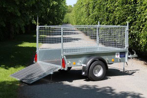 P6E Ifor Williams Small Unbraked, Westwood New Trailers,