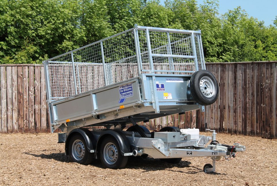 TT2515 Ifor WIlliams Tipper, Westwood New Trailers,