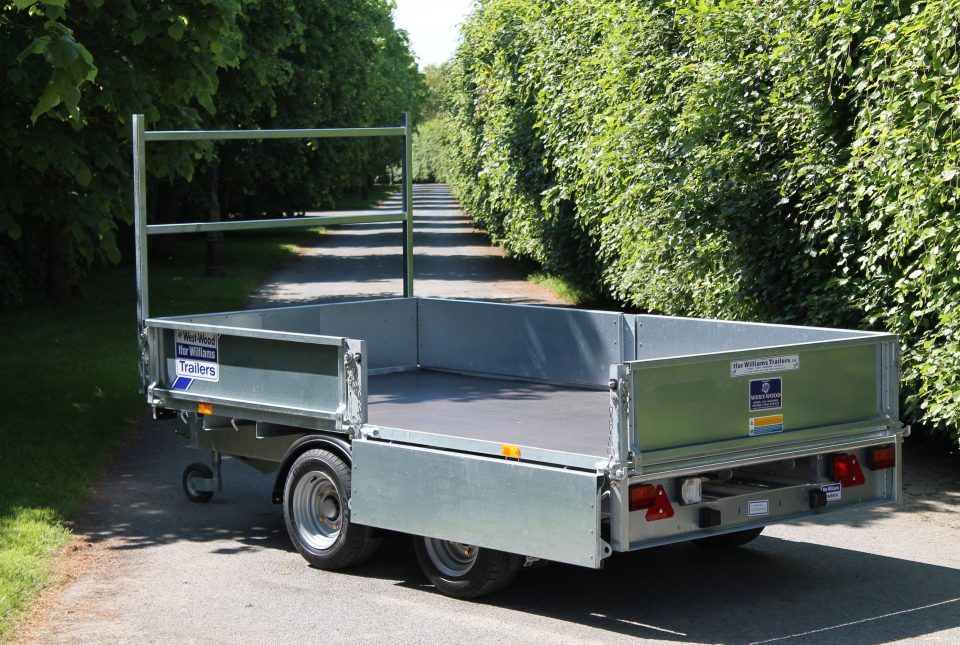 LM105G Ifor Williams Flatbed, Westwood New Trailers,
