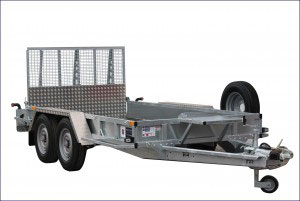 GP126 Ifor Williams Plant, Westwood New Trailers