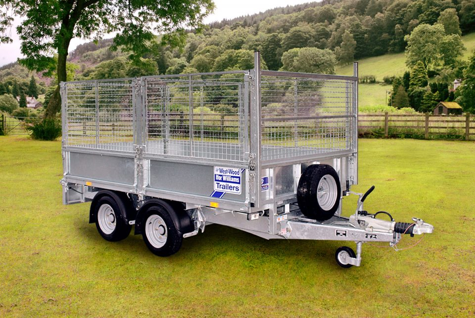 LM105 Ifor Williams Flatbed, Westwood New Trailers,