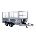 LM105 Ifor Williams Flatbed Trailer