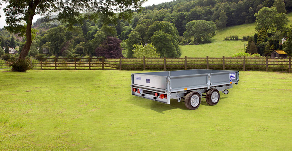 LM105 Ifor Williams Flatbed, Westwood New trailers