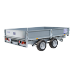 LM106 Ifor Williams Flatbed Trailer