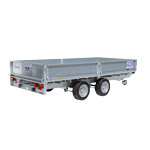 LM125 Ifor Williams Flatbed Trailer