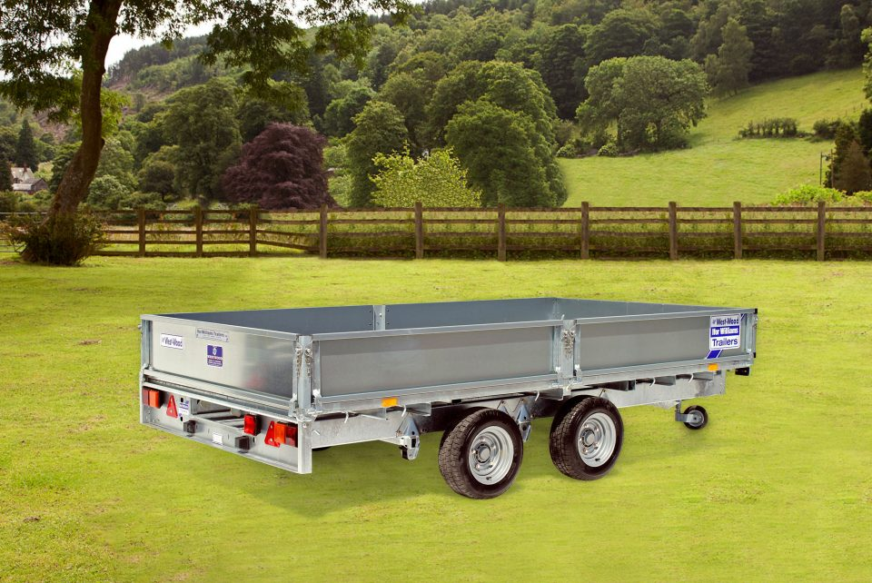 LM126 G Ifor Williams Flatbed, Westwood New Trailers,