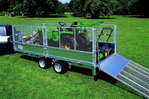 LM166 Ifor Williams Flatbed, Westwood New Trailers,