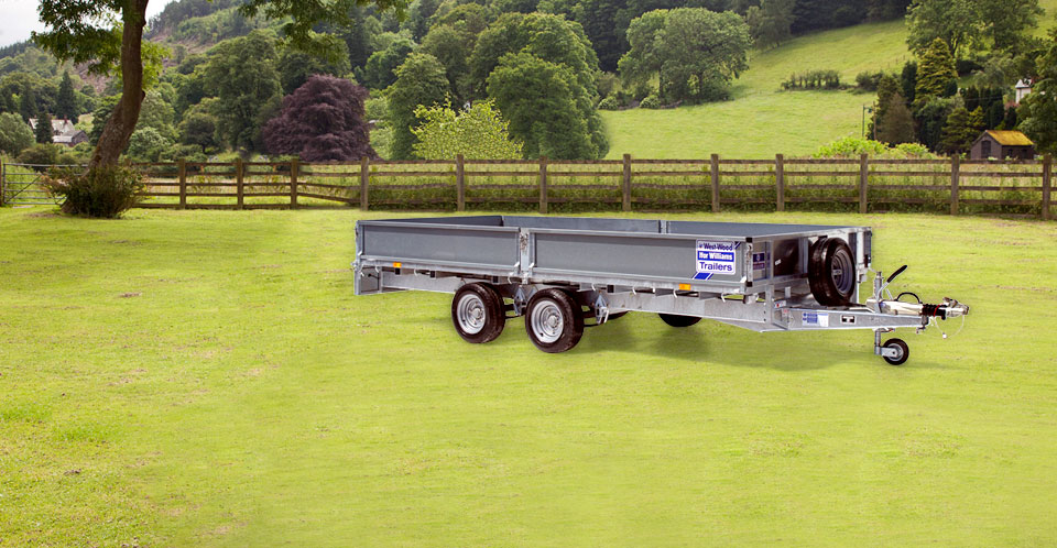 LM146 Tri Ifor Williams Flatbed, Westwood New trailers