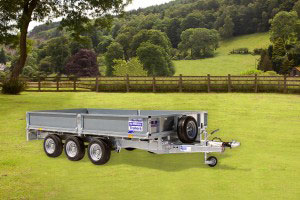 LM146GTri Ifor Williams Flatbed, Westwood New Trailers,