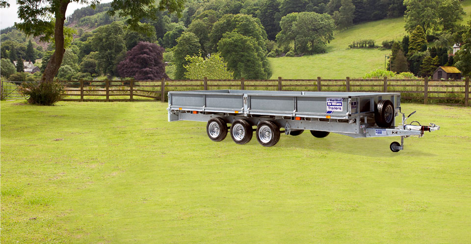 LM166 Tri Ifor Williams Flatbed, Westwood New trailers