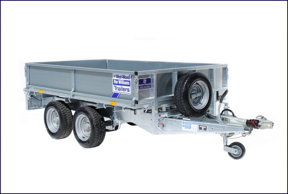 LM85 Ifor Williams Flatbed, Westwood New Trailers, 8 x 5