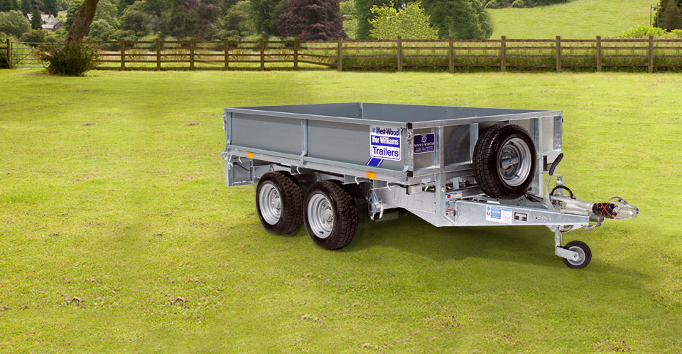 LM85 Ifor Williams Flatbed, Westwood New Trailers