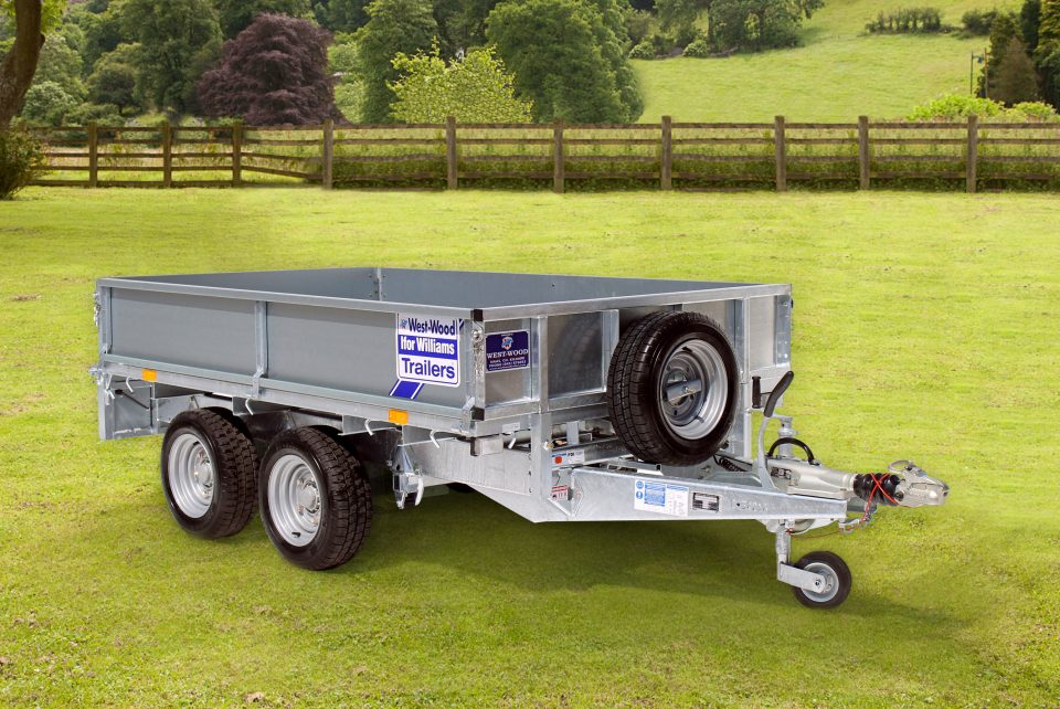 LM85G Ifor Williams Flatbed, Westwood New Trailers,