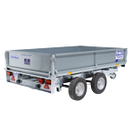 LT85 Ifor Williams Flatbed Trailer
