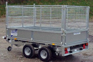 LT85G Ifor Williams Flatbed, Westwood New Trailers,