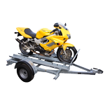 West Wood Motor Bike Trailer