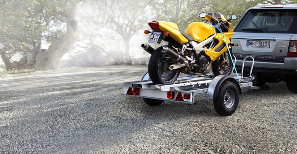 Ifor Williams Motorbike Trailer, Westwood New Trailers