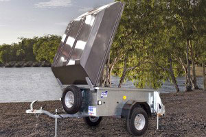 P5e Ifor Williams Small Unbraked, Westwood New Trailers, Lid
