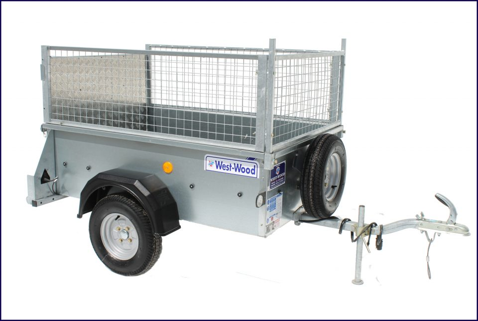 P5e Ifor Williams Small Unbraked, Westwood New Trailers, Ramp & Mesh