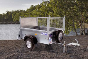 P5e Ifor Williams Small Unbraked, Westwood New Trailers, Ramp Mesh