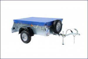P5e Ifor Williams Small Unbraked, Westwood New Trailers, Tailboard Cover