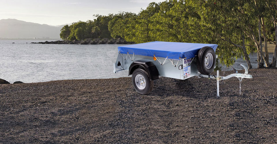 P5e Ifor WIlliams Small Unbraked, Westwood New Trailers, Cover