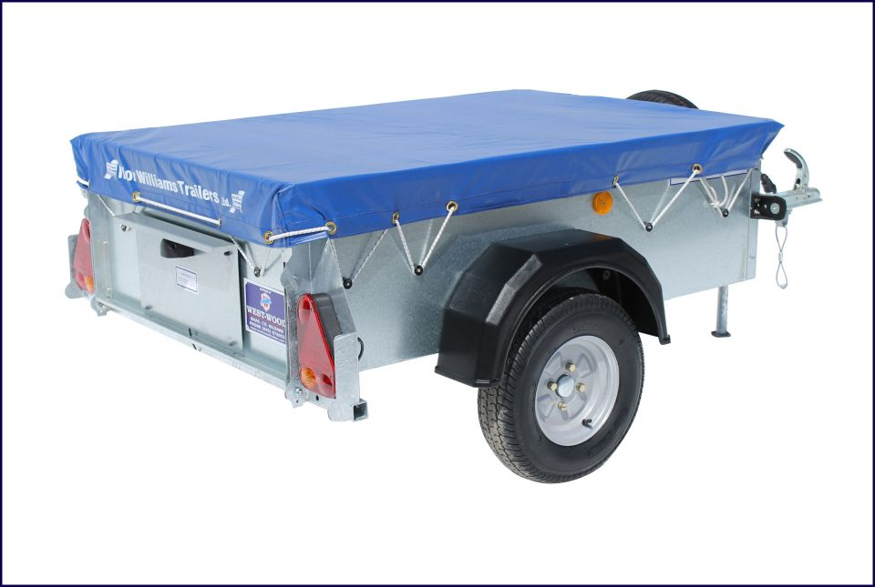 P5e Ifor Williams Small Unbraked, Westwood New Trailers, Tailboard & Cover