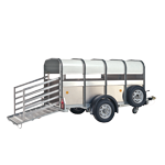 P6, P8 Ifor Williams Light Livestock Trailers.