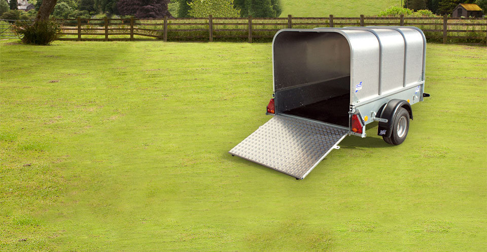 P6e, P7e, P8e Ifor Williams Smaill Unbraked, Westwood New Trailer