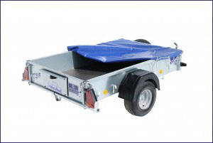 P6e Ifor Williams Small Unbraked, Westwood New Trailers, Cover